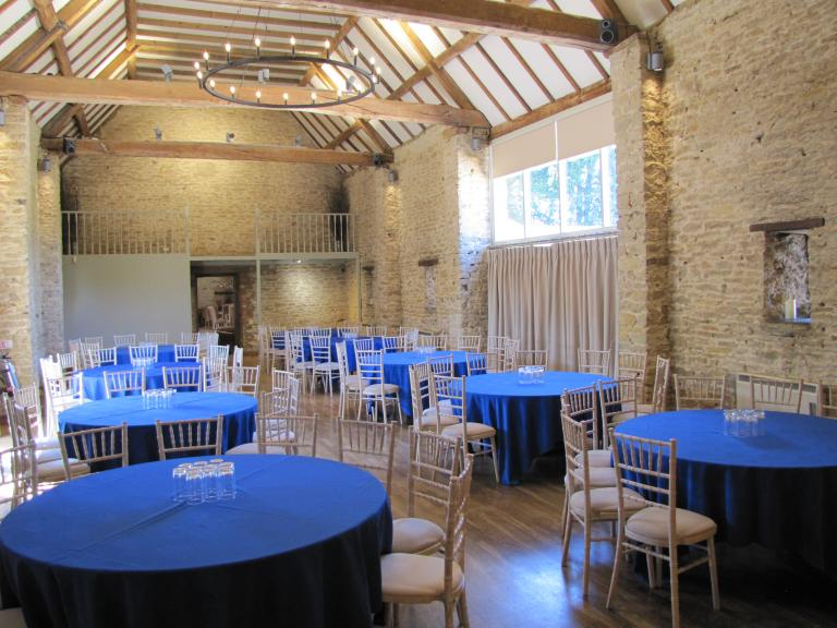 Cabaret style meeting in The Croughton Room